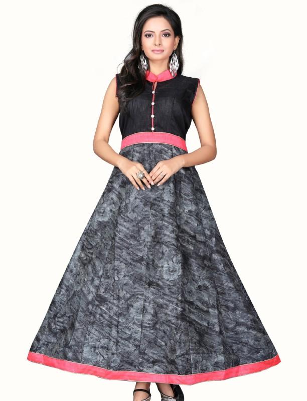 b97910bb7e42 Royal Drift Straight Gown(Black)