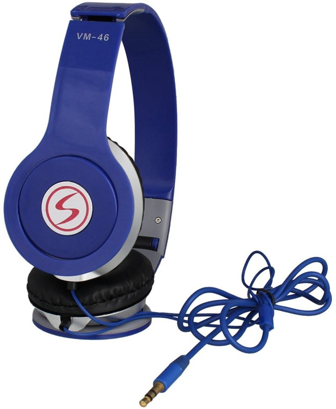 Signature VM-46 Headphone(Blue, Over the Ear)