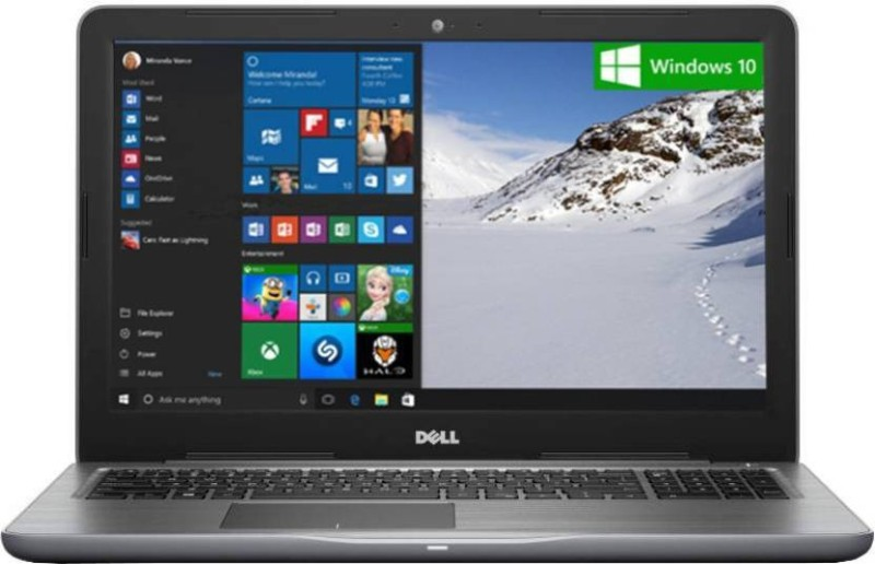 Dell Inspiron 5000 Core i5 7th Gen - (8 GB/2 TB HDD/Windows 10 Home/2 GB Graphics) 5567 Notebook(15.6 inch, Grey) Inspiron 5567