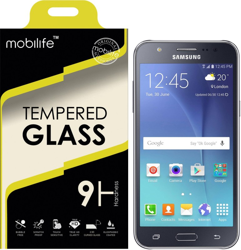 Mobilife Tempered Glass Guard for Samsung Galaxy J7 2016 Mobile, Samsung Galaxy J8