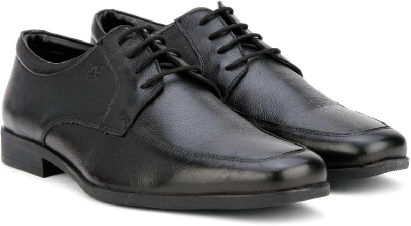 Arrow NAME Lace Up shoes For Men(Black)