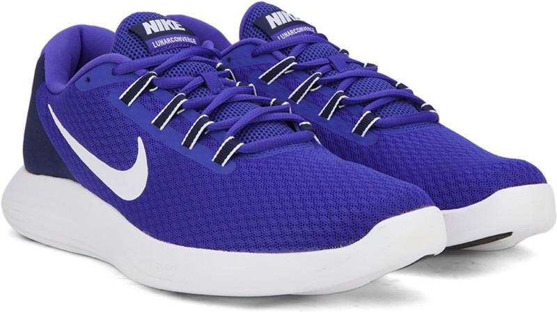 Nike LUNARCONVERGE Running Shoes For Men(Blue)