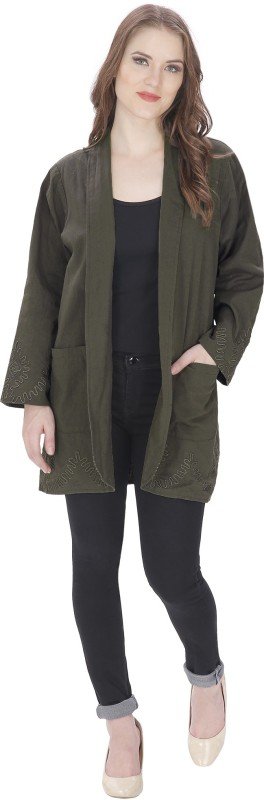 MansiCollections Womens Single Breasted Coat