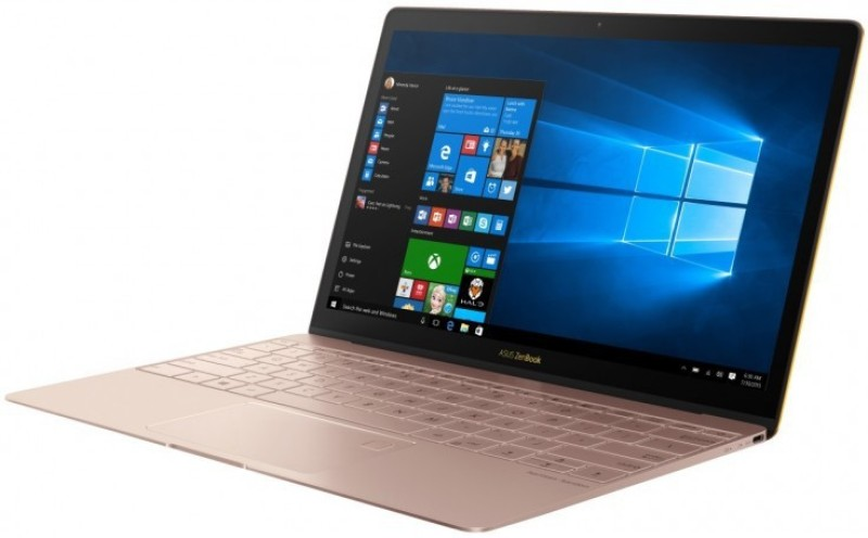 Asus Zen Book 3 Series Core i5 7th Gen - (8 GB/512 GB SSD/Windows 10) UX390UA-GS045T Thin and Light Laptop(12.5 inch, Gold, 0.91 kg) image