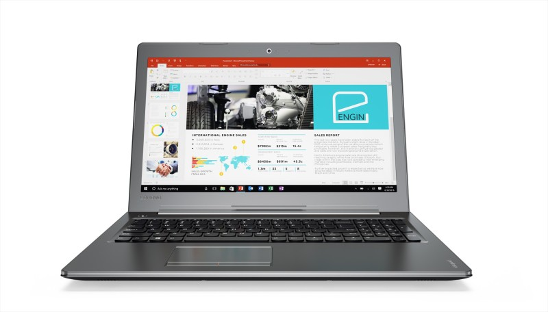 Lenovo Core i5 7th Gen - (8 GB/1 TB HDD/Windows 10 Home/2 GB Graphics) Ideapad 510 Laptop(15.6 inch, Gun Metal, 2.2 kg) image