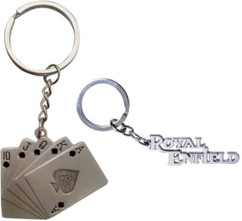 alexus-card-and-royalenfield-metal-key-chainsilver