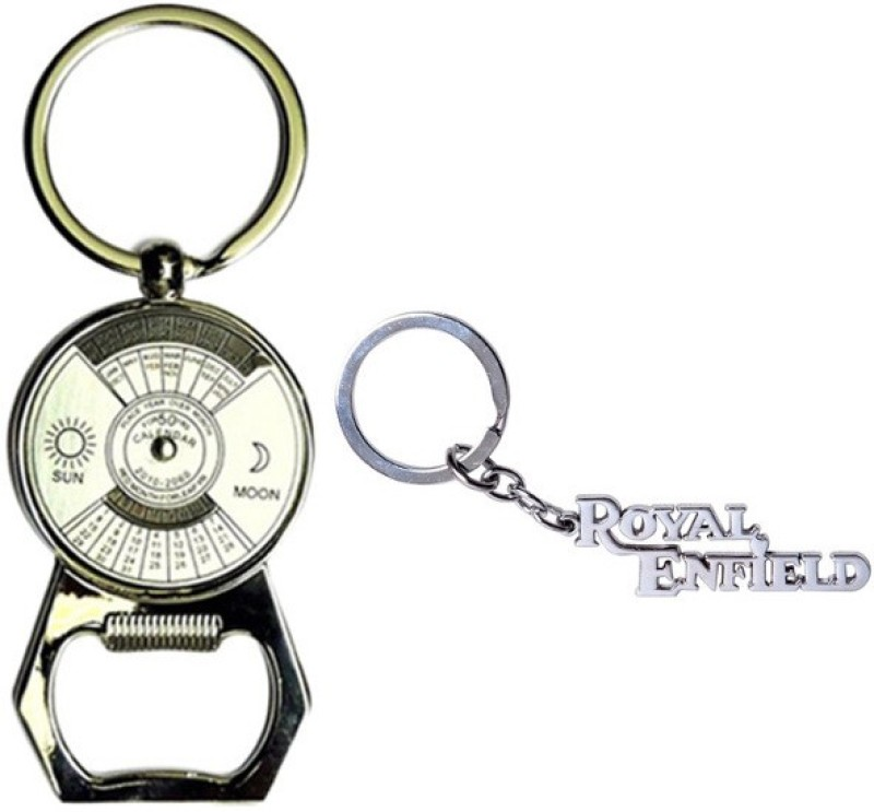 alexus-calender-opener-and-royalenfield-metal-key-chainsilver