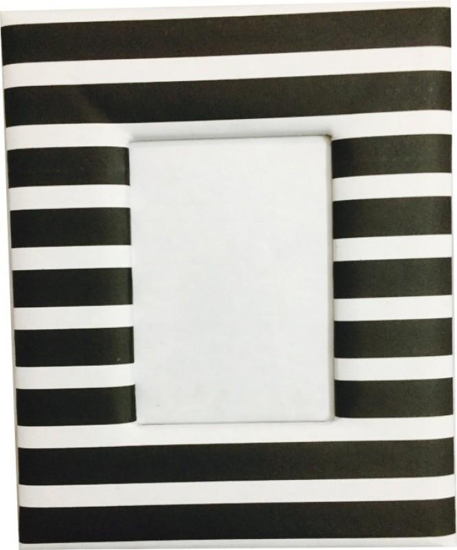 Goonj Creations Paper Crafts Photo Frame(White, Black, 1 Photos)