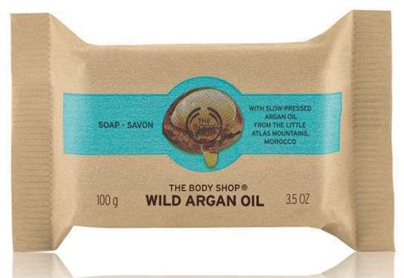 The Body Shop Wild Argan Oil Soap(100 g)