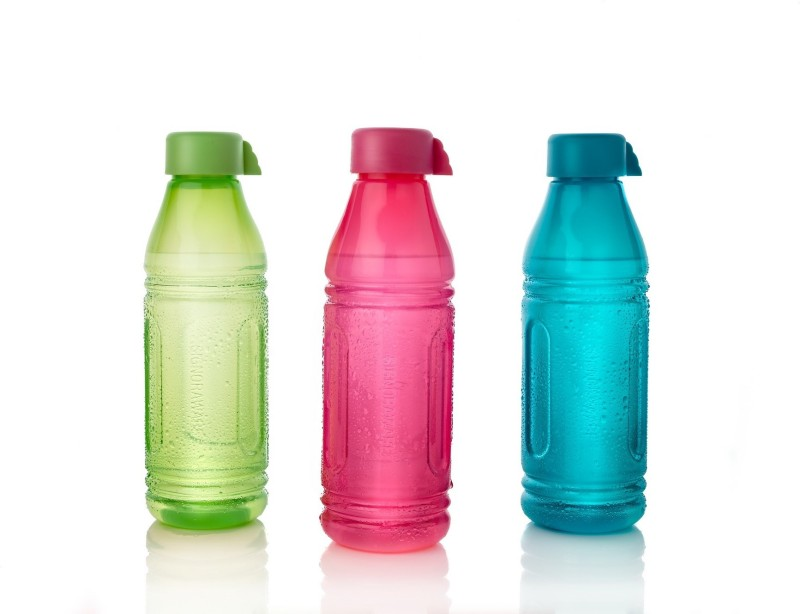 Signoraware Aqua Triangle 500 ml Bottle(Pack of 3, Multicolor)