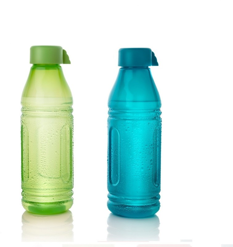 Signoraware Aqua Triangle 500 ml Bottle(Pack of 2, Multicolor)