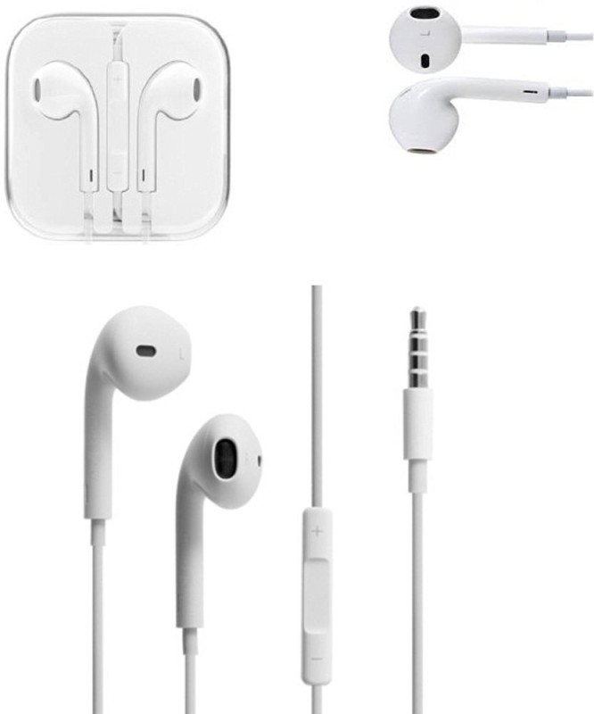 CaseStyle Galaxy On8 Headphone(White, In the Ear)