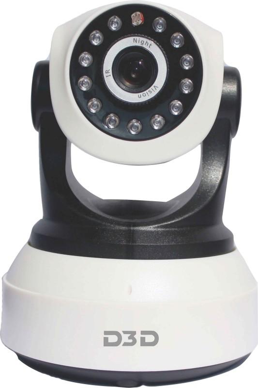 D3D D8809 1 Channel Home Security Camera(Support 128 GB)