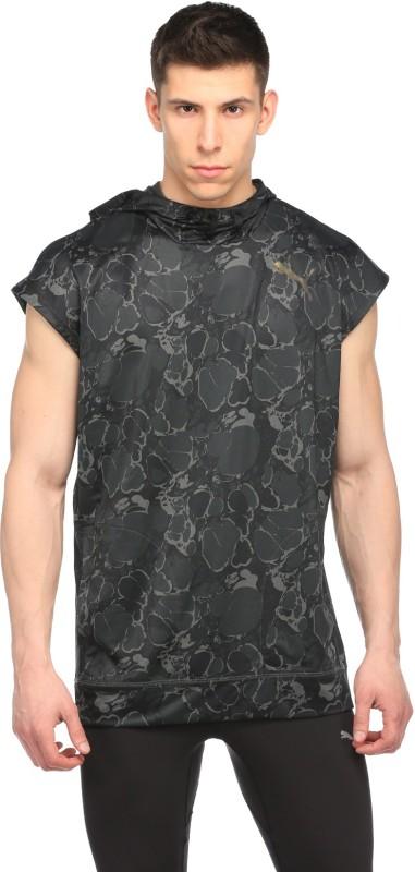 Puma Sleeveless Printed Mens Jacket