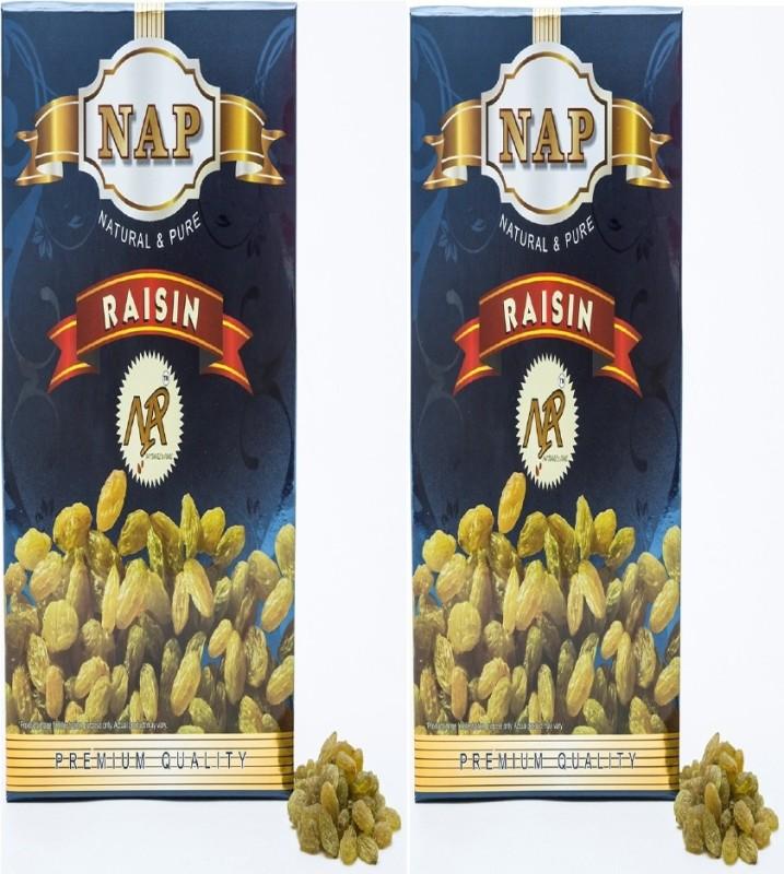 NAP RAISIN/KISHMISH PACK OF 2 (500GMS*2) Raisins(2 x 0.5 g)