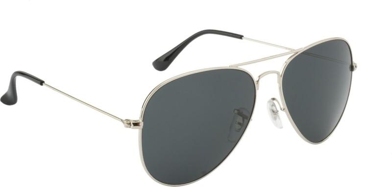 ce945dcd9ad4f AZMANI Aviator Sunglasses(Black)