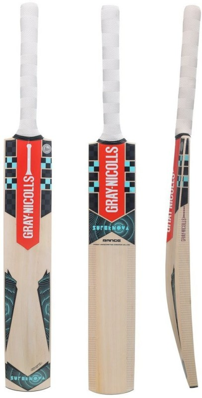 Gray Nicolls Supernova-Range Kashmir Willow Cricket Bat(Short Handle, 1180 g)