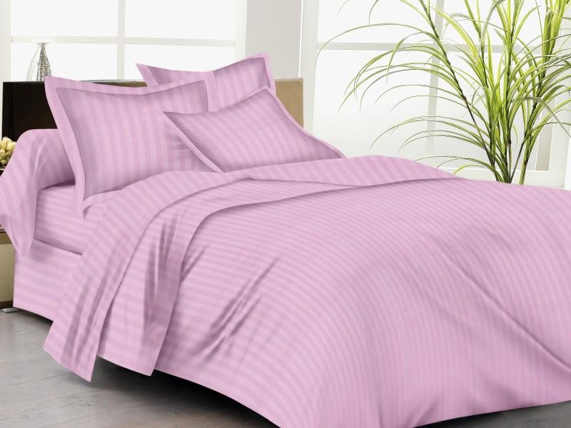 TRANCE HOME LINEN King Cotton Duvet Cover(Pink)