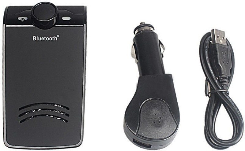 IZED v2.1 Car Bluetooth Device with Adapter Dongle, Transmitter(Black)