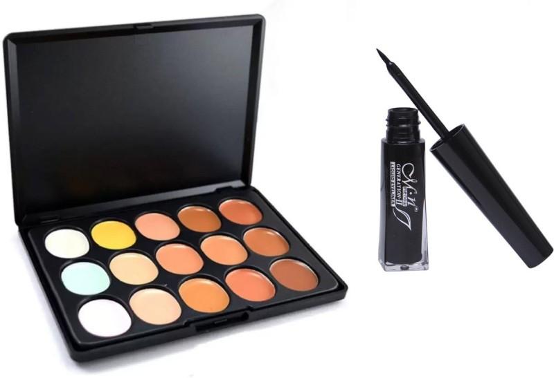 MN Contour Cream Concealer with Eyeliner(Set of 2)