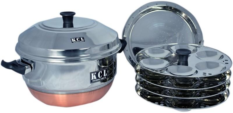 KCL Idly Pot Standard Idli Maker(4 Plates , 24 Idlis )