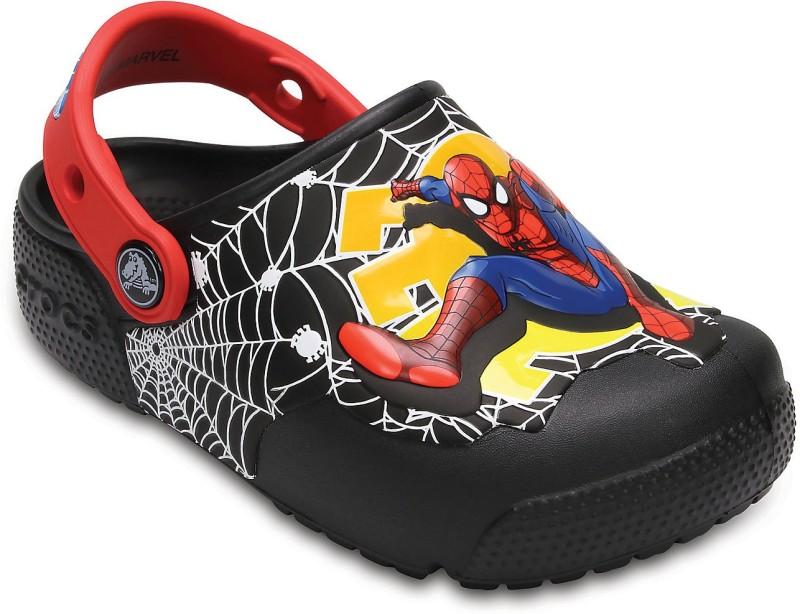 Crocs Boys Slip-on Clogs(Black)