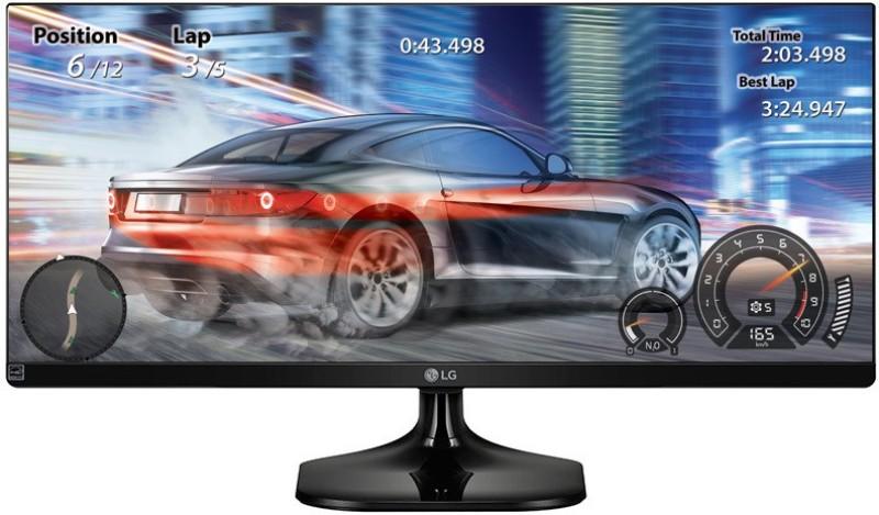 LG 25 inch LED Backlit - 25UM58-P Monitor(Black)