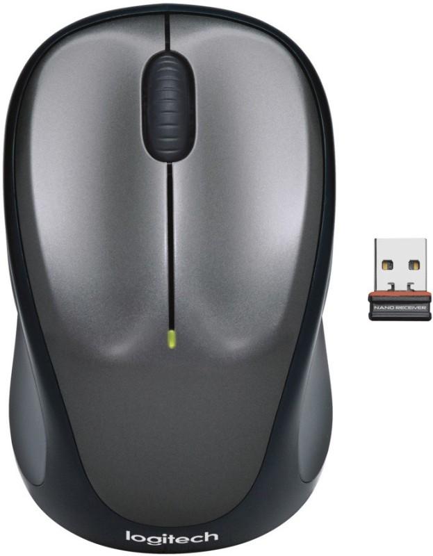 Logitech M235 Wireless Optical Mouse(USB, Black)