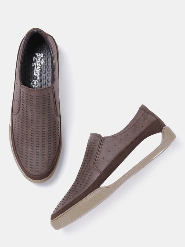 Roadster Sneakers For Men(Brown)