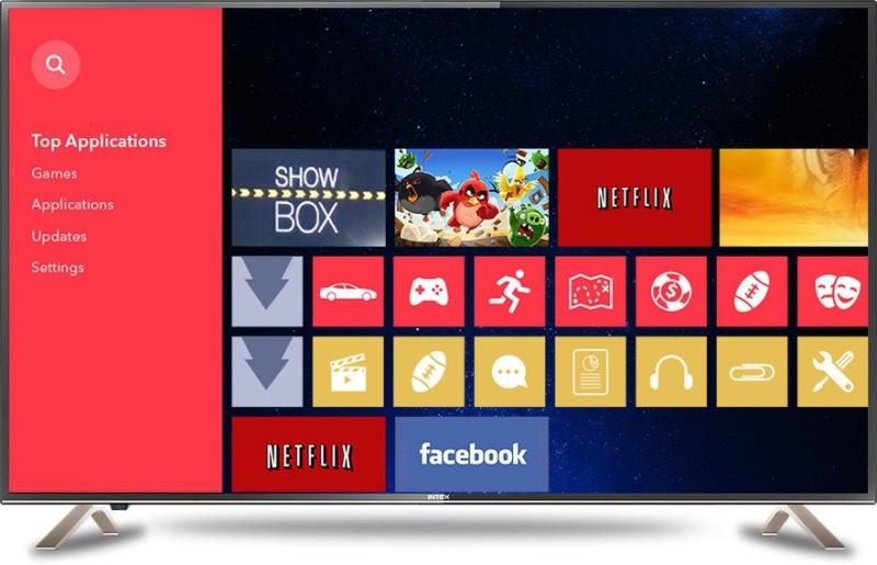 Intex 109cm (43 inch) Full HD LED TV(LED-4301)