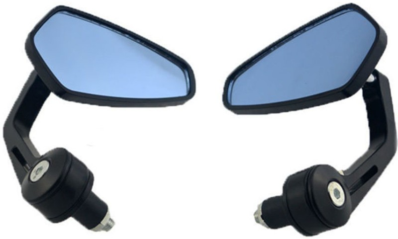 KASCN Manual Rear View Mirror For Royal Enfield Classic 500, Classic 350, Standard 350 Twin Spark, Thunderbird 350, Electra Delux(Right, Left)