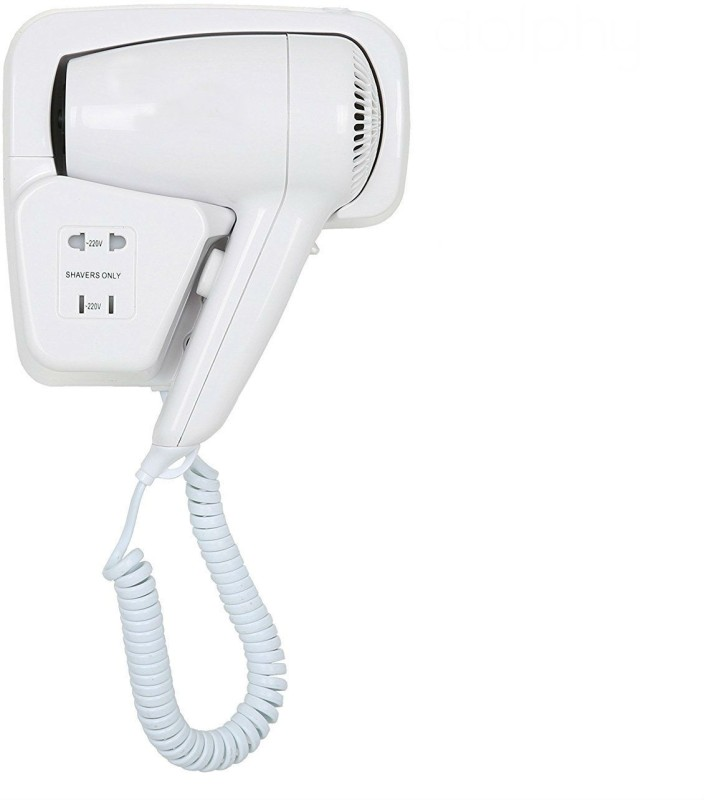 Shrih New SH-04176 Professional Wall mounted Hair Dryer(White)