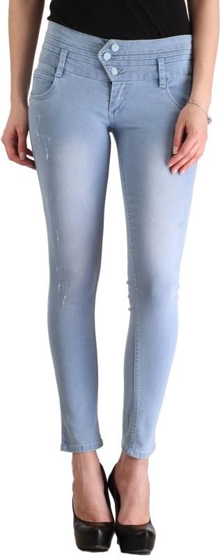 Cali Republic Skinny Women Light Blue Jeans