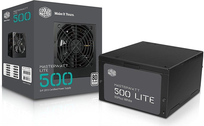 Cooler Master MASTER WATT LITE 500 PSU 500 Watts PSU(Black)