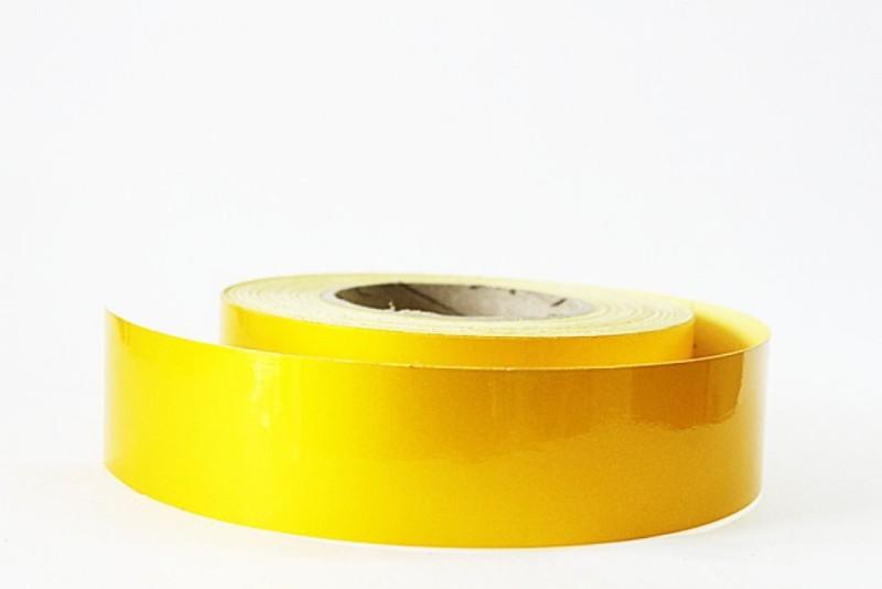 laps of luxury Radium Tape GD387 50.8 mm x 3.65 m Yellow Reflective Tape(Pack of 1)