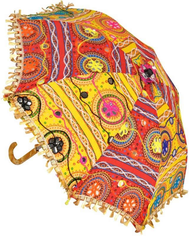 Lal Haveli Designer School Sun Umbrella(Multicolor)