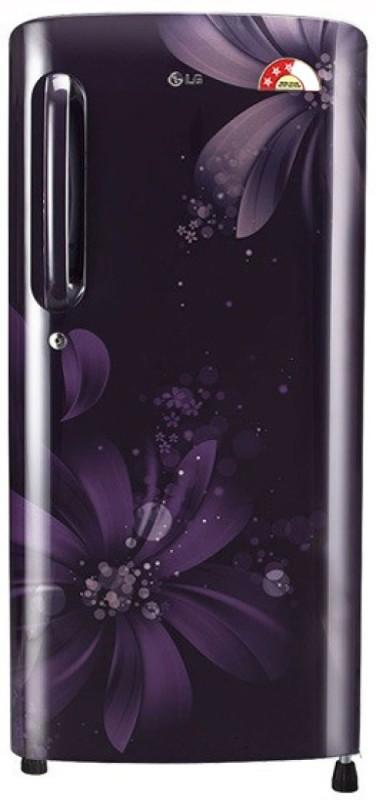 LG 190 L Direct Cool Single Door Refrigerator(Purple Aster, GL-B201APAW)