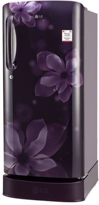 LG 190 L Direct Cool Single Door Refrigerator(purple orchid, GL-D201APOX)