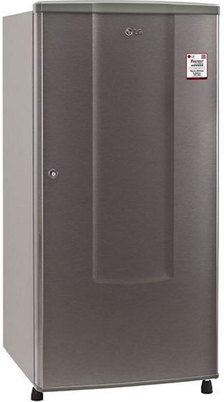LG 185 L Direct Cool Single Door Refrigerator(Dazzle Steel, GL-B181RDSU)