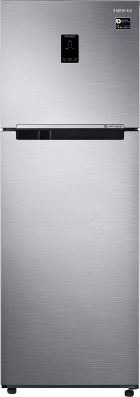 Samsung 345 L Frost Free Double Door Refrigerator(Refined Inox, RT37M5538S9/TL)
