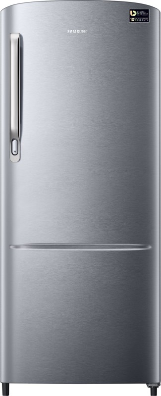 Samsung 212 L Direct Cool Single Door Refrigerator(Elective Silver, RR22M242YSE-NL/...