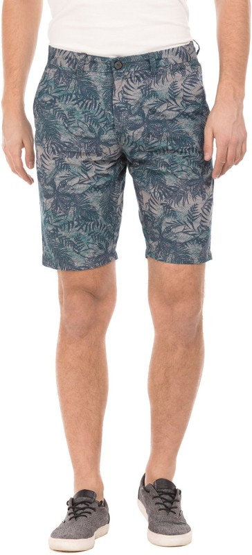 U.S. Polo Assn. Printed Men's Multicolor Basic Shorts