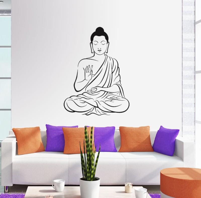 New Way Decals Wall Sticker Spiritual Leaders Wallpaper(70 cm X 50 cm)