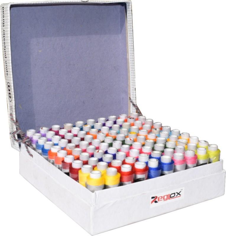 Reglox 25 Shades (Each 4 in no.)Thread Spools Thread(183 m Pack of100)