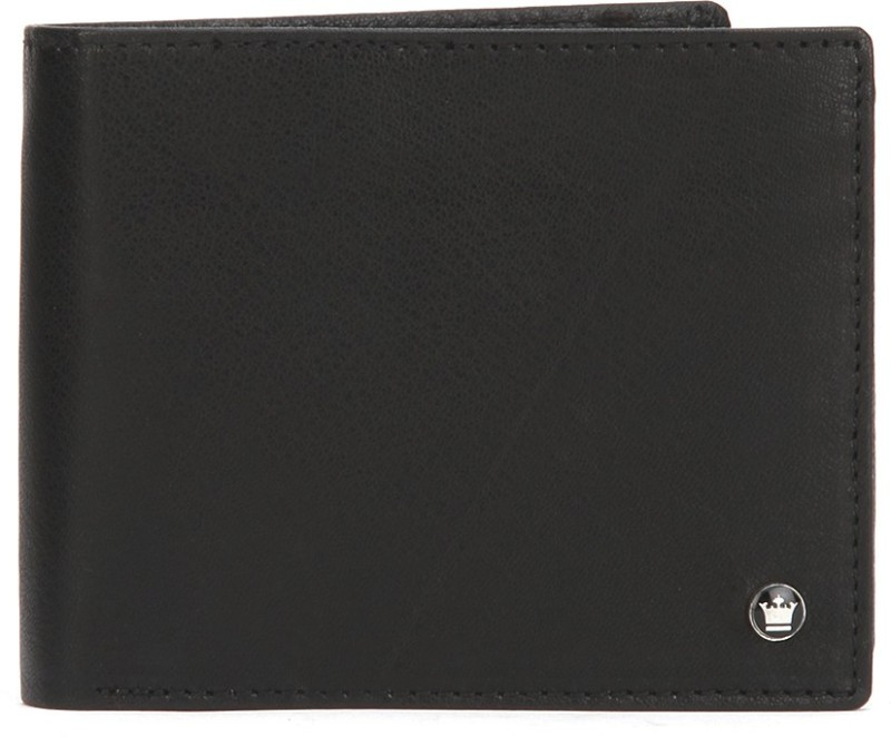 Louis Philippe Men Brown Genuine Leather Wallet(7 Card Slots)
