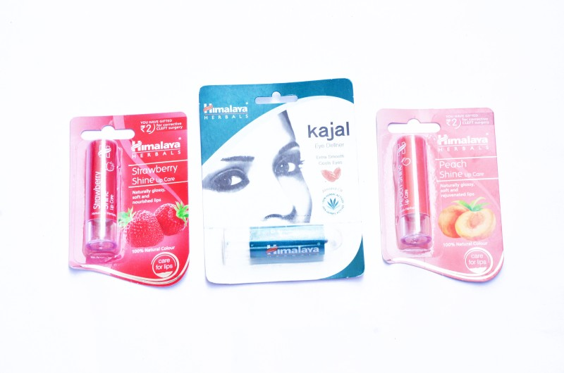 Himalaya LIP BALM, KAJAL(Set of 3)