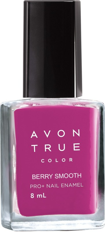Avon True Color Pro+ Plus Nail Enamel Berry Smooth