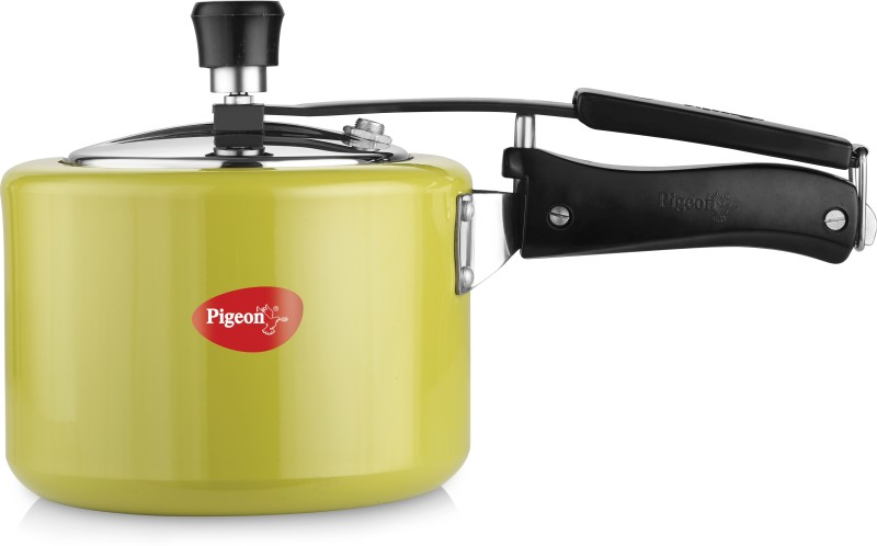 Pigeon Chroma 3 L Pressure Cooker with Induction Bottom(Aluminium)
