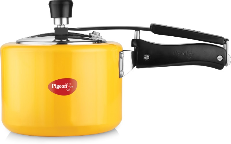 Pigeon Chroma 3 L Pressure Cooker(Induction Bottom, Aluminium)