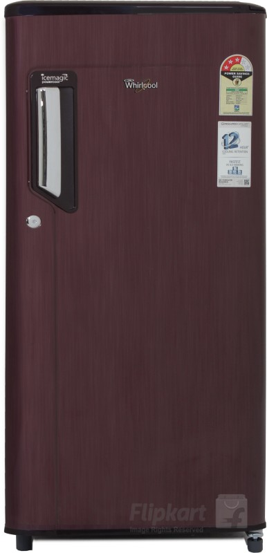 Whirlpool 185 L Direct Cool Single Door Refrigerator(Wine Titanium, 200...